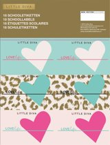Little Diva Etiketten - 3x3 vellen