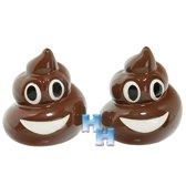 """Emoji - Emoticon - Smiley - Peper en Zoutstel """"Drol"""""""