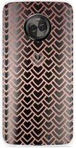Motorola Moto X4 Hoesje Pink Pattern