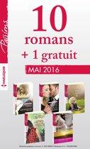 10 romans inédits Passions + 1 gratuit (n°595 à 599 - Mai 2016)