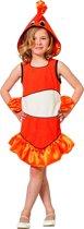Tropische Clownvis Nemo | Meisje | Maat 164 | Carnaval kostuum | Verkleedkleding