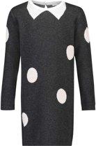 Noppies Meisjes Jurk knit Westwood - Charcoal - Maat 122