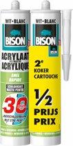 Bison Acrylaatkit - Overschilderbaar - 30 Minuten - 2  x 310  ml