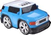 Gearbox Raceauto Met Geluid Blauw 12 Cm