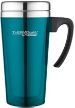 THERMOS SOFT TOUCH TRAVEL MUG TURKOOIS 420ML