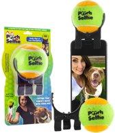 Selfie stick voor je huisdier met afneembare bal