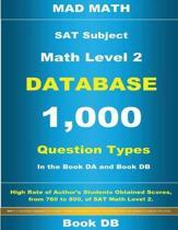 SAT Math Level 2 Database Book DB