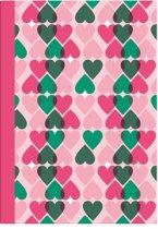 &Anne Schriften - A4 - 40 Bladzijdes - 3 Stuks - Roze