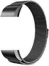 siston Milanees bandje - Fitbit Charge 2 - zwart - Small