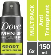 Dove M+C Sport Active 150ml 6x