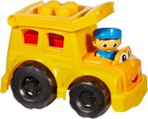 Mega Bloks First Builders Maxi Schoolbus Lil'Vehicle - Constructiespeelgoed