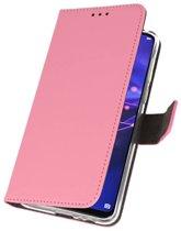 Wicked Narwal | Wallet Cases Hoesje voor Huawei Mate 20 Roze