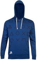 Playstation - AOP Icons Men s Hoodie - 2XL