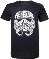 Star Wars - Stormtrooper Word Play T-shirt - XL