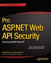 Pro ASP.NET Web API Security