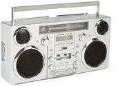 GPO BROOKLYN Ghettoblaster bluetooth, CD, cassette, USB en DAB+ radio