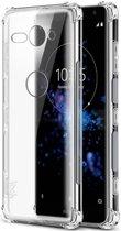 Sony Xperia XZ2 Compact TPU Hoesje met Display Folie Transparant
