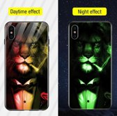 Lichtgevend Telefoonhoesje iPhone 8 en iPhone 7 - Glow in the Dark Telefoonhoesje - iPhone 8 Case - iPhone 8 Back Cover