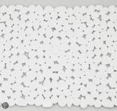 Spirella Riverstone Antislipmat - 54x54 cm - Wit