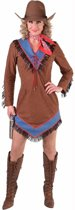 Bruin cowgirl jurkje voor dames 38 (m) - western / country outfit