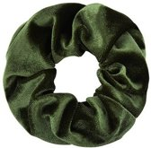 Scrunchie Velvet Army Groen | kywi Jewelry