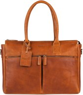 BURKELY Antique Avery Laptoptas - 15.6 inch - Cognac