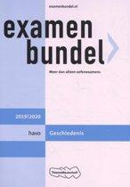 Boek cover Examenbundel havo Geschiedenis 2019/2020 van M.M.P.C Bolink (Paperback)