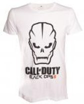 Merchandising CALL OF DUTY BLACK OPS III - T-Shirt Black Ops III FACE - White (L)