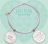 Heart to Get 925 Sterling Zilveren Bohemian Coins Armband  - Zilver