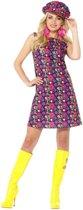 Hippie peace sixties kostuum voor dames 36-38 (S)