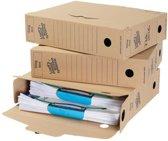 Loeff's archiefdoos Universeel Box 345x250x80 mm         Pak van 50 stuks