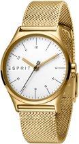 Esprit ES1L034M0075 horloge dames - goud - edelstaal doublé