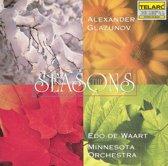 Glazunov: Seasons / Edo de Waart, Minnesota Orchestra
