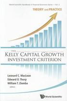 Kelly Capital Growth Investment Criterion, The