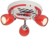 Brilliant RACING Spotlamp 3x50W Rood Wit G56134/71