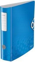 4x Leitz WOW ordner Active rug van 7,5cm, blauw