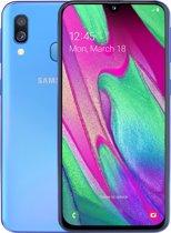 Samsung Galaxy A40 - 64GB - Blauw