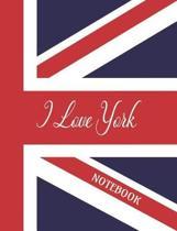I Love York - Notebook