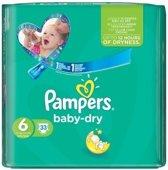 Pampers Baby Dry Luiers Maat 6 - 33 stuks