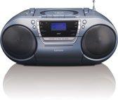 Lenco SCD-680 - DAB+ Radio met CD, Casette en USB-aansluiting - Zilver