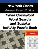 New York Giants Trivia Crossword, Wordsearch and Sudoku Activity Puzzle Book