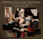 Portrait Of A Lady With Harp - Musi