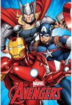 Marvel Avengers Fleeceplaid - 100 x 150 cm - Multi