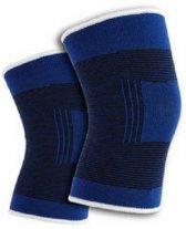 knieband 2 stuks   blauw   knie ondersteuning   kniekous   kniebanden   kruisbanden   meniscus  