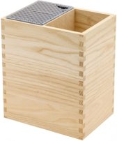 Messenblok MISTERY BOX & leeg opbergvak - natural hout