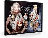 Plectrumdisplay Marilyn Monroe ingelijst