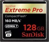 Sandisk Extreme PRO CompactFlash kaart 128 GB