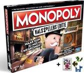 Spel Monopoly Valsspelers Editie met Clown games Magic Puzzle 3d