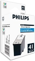 Philips Crystal 41 - Inktcartridge / Zwart
