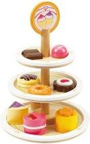 Hape Houten speelgoed dessert etagère